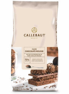 CALLEBAUT Chocolate mousse dark 75%  800g