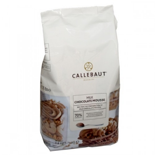 CALLEBAUT Chocolate mousse milk75%  800g