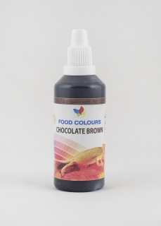 Airbrush farba Chocolate brown 60ml