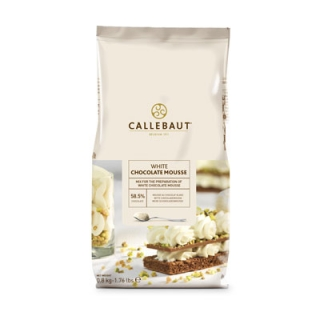 CALLEBAUT Chocolate mousse white  58,5%  800g