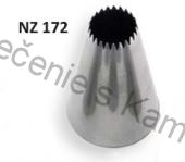 Špička Fine Tooth Star nozzle No. 172