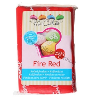 FunCakes fondant - Fire red 250g